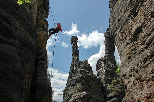 Kletterkurs im Elbsandsteingebirge