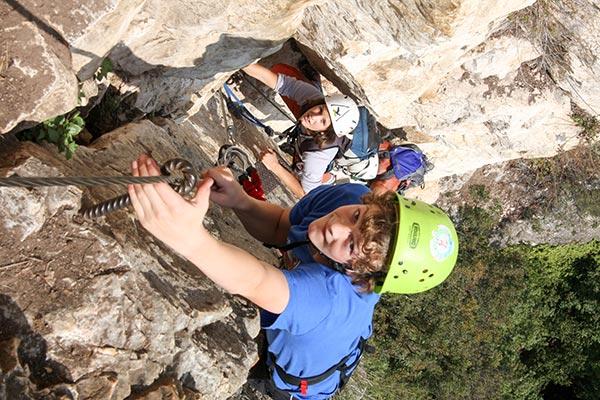 Ausbildungskurs Klettersteig