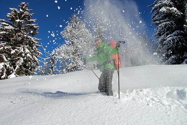 Schneeschuhtage in den Dolomiten