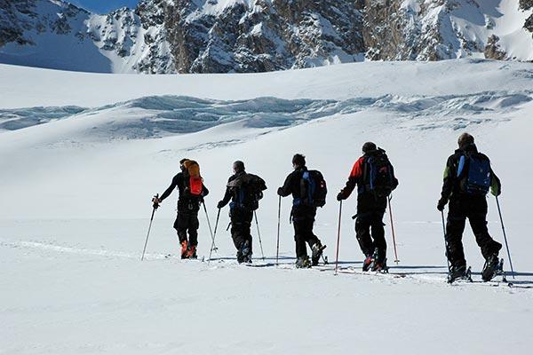 Ausbildung für Skitouren