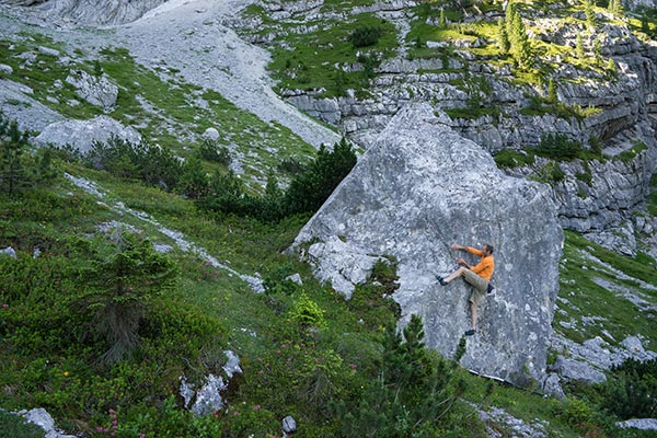 Bouldern auf der Wettersteinalm
