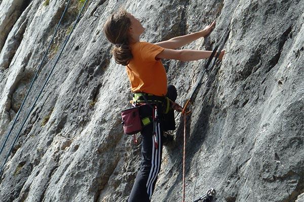 Kletterkurs an der Alpspitze